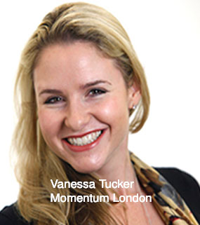 Vanessa Tucker Creative Director UK, Momentum Worldwide