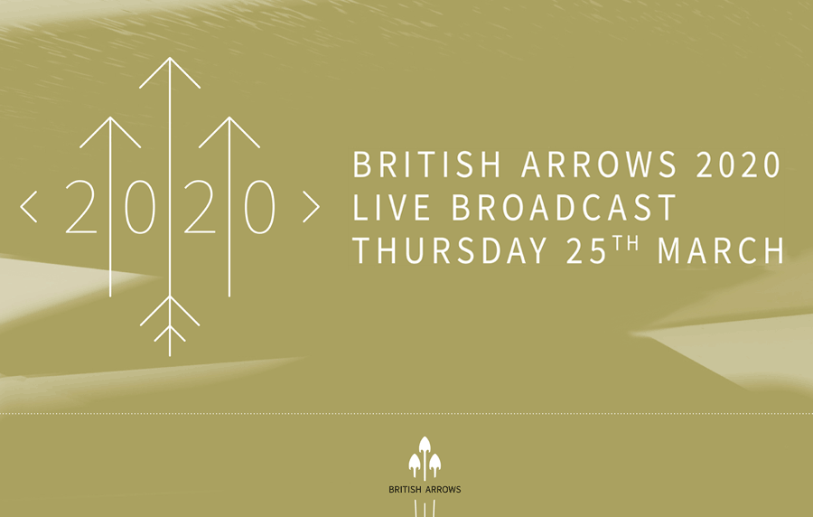 The British Arrows 2020 Awards Show Update and Appeal