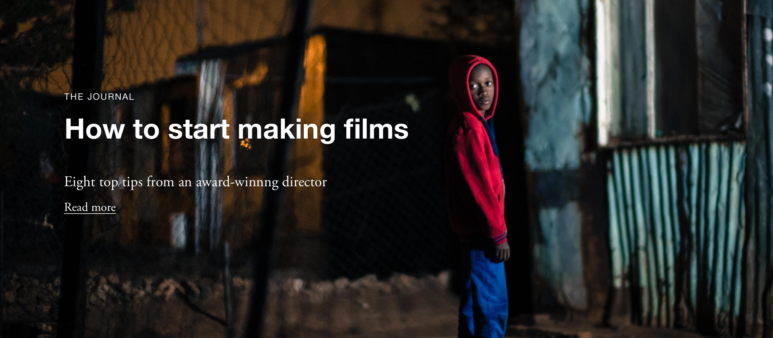 How to start making Films